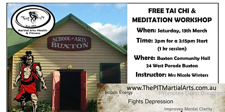 Tai Chi and Meditation 14 and Older tickets