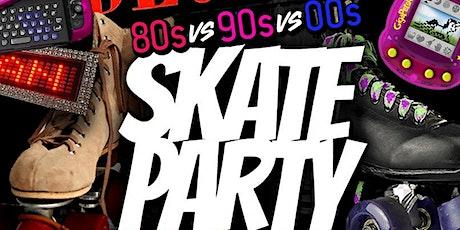 #ClashOfTheDecades Skate Party | 80s vs 90s vs 2000s (Attire Mandatory) tickets