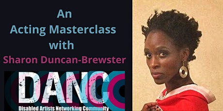 An Acting Masterclass with Sharon Duncan-Brewster tickets