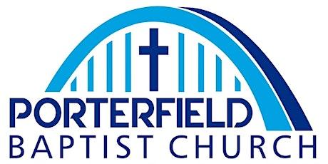 Porterfield Baptist Church 11:00am Modern Service tickets