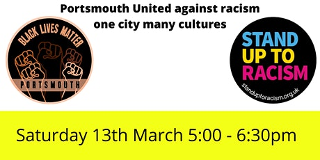 One City Many Cultures - Portsmouth united against racism tickets