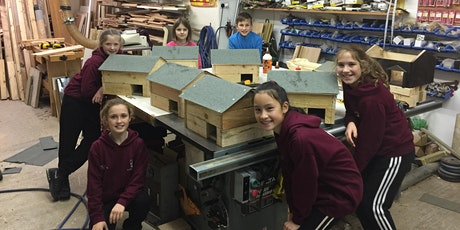 Parent and Child - Make a hedgehog house, 7+ tickets