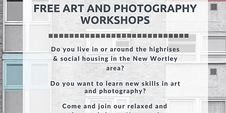 Free Art and Photography workshop at New Wortley cc tickets