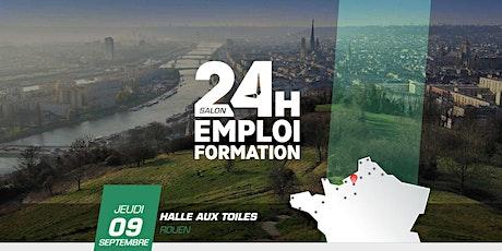 24 Heures pour l'Emploi et la Formation - Rouen 2021 billets