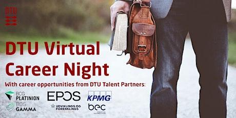 DTU Virtual Career Night tickets