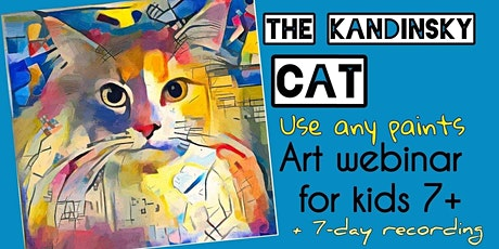 Wassily Kandinsky - The Cat - Online Art Webinar for Kids 7+ tickets