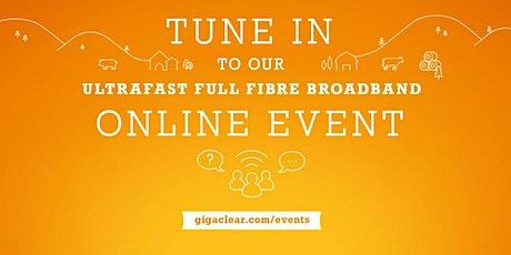 Court Avenue  - Online via Teams, Gigaclear Presentation Tickets