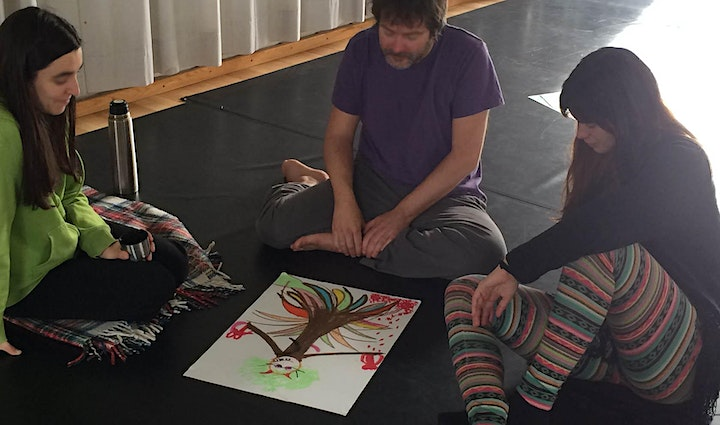 Ignite your spirit of PLAY. Creative movement and drawing class. image