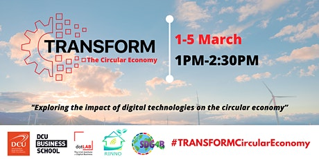 TRANSFORM The Circular Economy tickets
