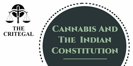 CANNABIS AND THE INDIAN CONSTITUTION tickets