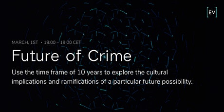 World Futures Day: Future Crimes tickets
