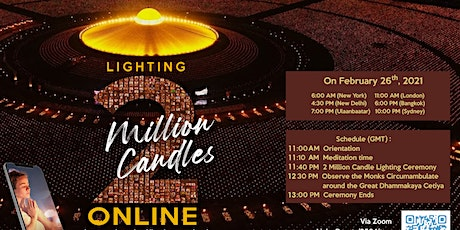 The Candle Lighting Ceremony for Global Peace tickets