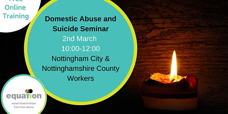 Domestic Abuse and Suicide seminar (City and County workers) tickets
