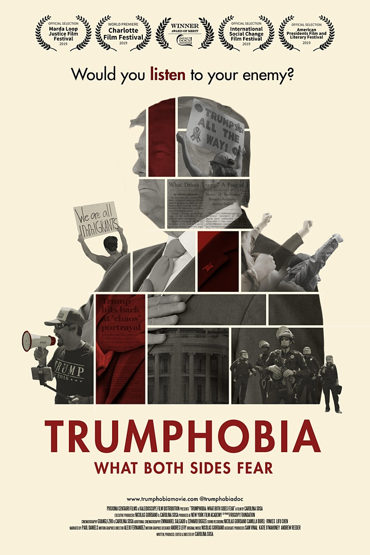 """Film Dicussion: """"Trumphobia: what both sides fear"""" image"""