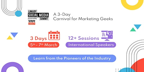 Linkjoy Social Media Summit - Learn from industry experts tickets