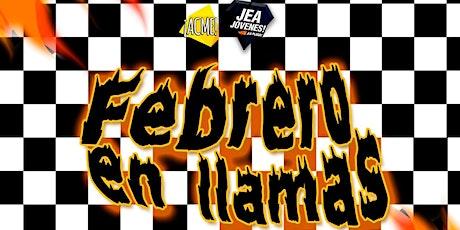 Jea Jóvenes y Acme   - Febrero en LLAMAS entradas