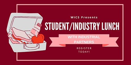 WiCS Student/Industry Lunch tickets