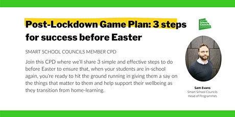 Post-Lockdown Game Plan: 3 steps for success before Easter tickets