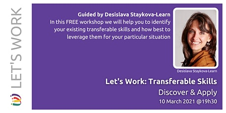 Let's Work - Transferable Skills (Discover and Apply) tickets