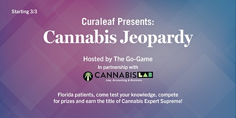 CURALEAF CANNABIS JEOPARDY TOURNAMENT tickets