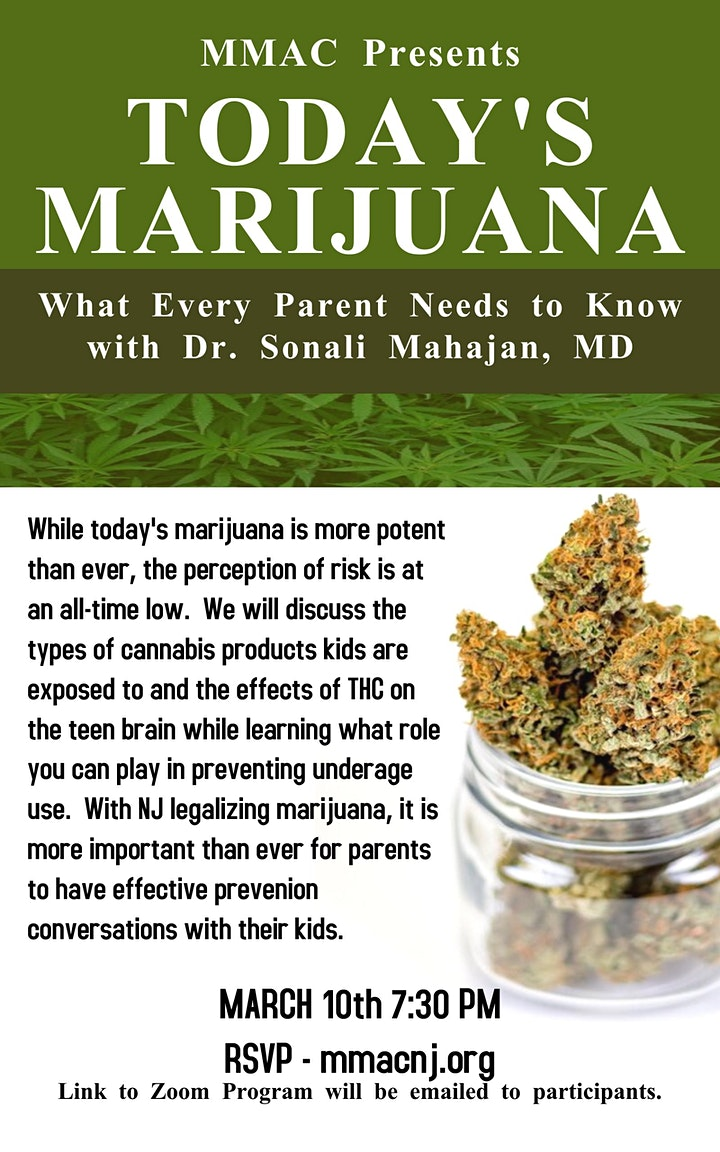 Today's Marijuana: What Every Parent Needs To Know image