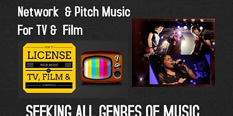It's All About The Music  Networking & Song Pitch-A-thon Event tickets