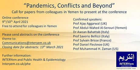 INTERYem Public Health and Epidemiology Conference tickets