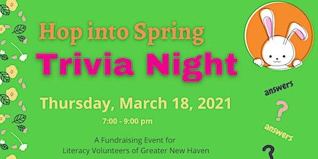 Spring into Trivia - Zoom Trivia Night! tickets