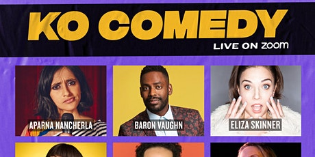 KO Comedy Live on Zoom: Friday, February 26th, 2021 tickets