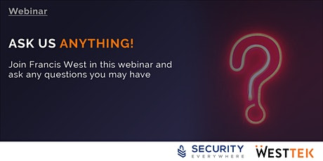 CyberSecurity - Ask Us Anything  26th March 2021 tickets