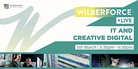 Wilberforce LIVE - IT & Creative Digital tickets