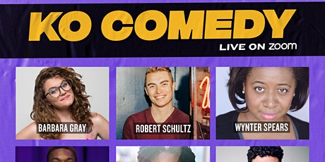 KO Comedy Live on Zoom: Saturday, February 27th, 2021 tickets