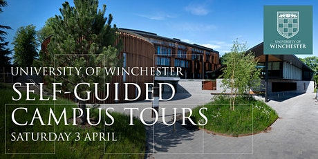University of Winchester: Self-Guided Campus Tours on Saturday 3 April tickets