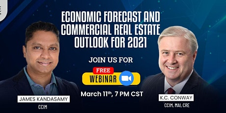 Economic Forecast and Commercial Real Estate Outlook For 2021 tickets