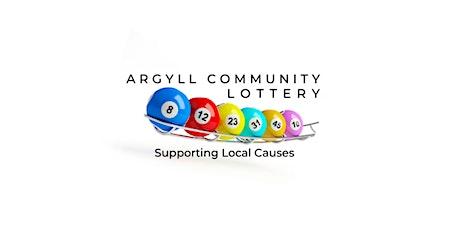 Argyll Community Lottery tickets