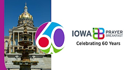 60th Annual Iowa Prayer Breakfast In Person or Online tickets