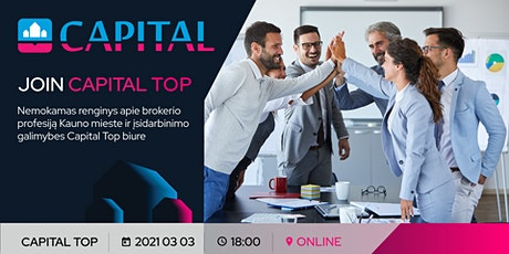 JOIN CAPITAL TOP tickets