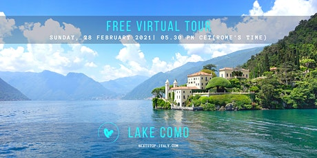 FREE VIRTUAL TOUR: Lake Como - Highlights and Hidden Treasures tickets