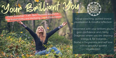 Your Brilliant You - Reconnect, Re-Love, Re-balance! tickets