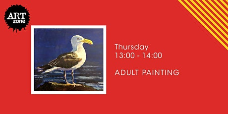 Online Acrylic Painting Workshop tickets