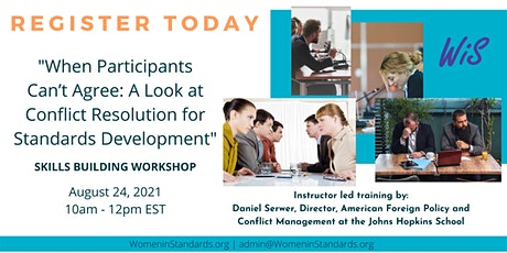 Conflict Resolution for Standards Development tickets