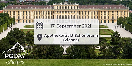 PGDay Austria 2021 tickets