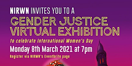 Gender Justice Virtual Exhibition to Celebrate International Women's Day tickets