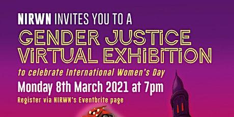 Gender Justice Virtual Exhibition to Celebrate International Women's Day entradas