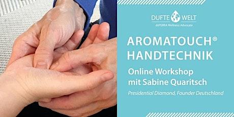 Aromatouch-Handtechnik Workshop mit Sabine Quaritsch bilhetes