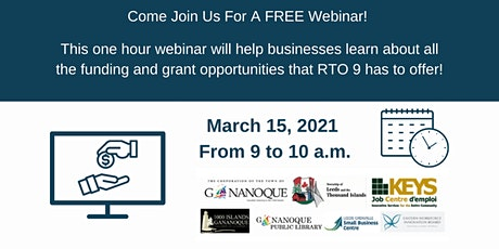RTO 9 Partnership Funding Opportunities Webinar tickets