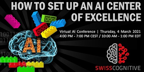 How to Set Up an AI Center of Excellence – CognitiveVirtual tickets