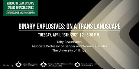 Spring Speaker Series: Binary Explosives: On a Trans Landscape tickets