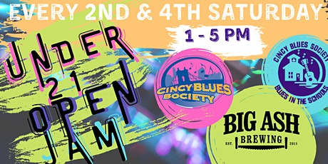 Under 21 Open Jam @ Big Ash! tickets