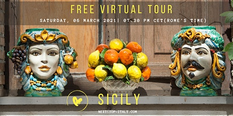 FREE VIRTUAL TOUR: SICILY- The Treasures of the East Coast tickets